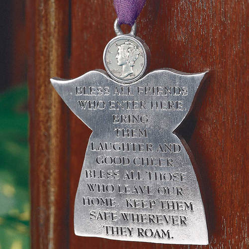 Angel Door Blessing with Silver Dime