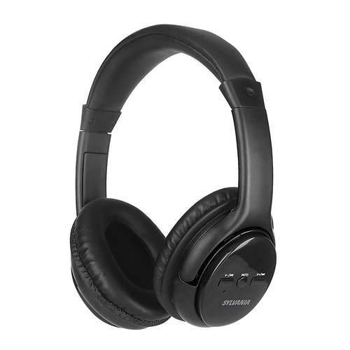 Sylvania Wireless Headphones with Microphone