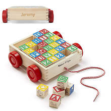 Melissa & Doug Personalized Wooden Alphabet Blocks