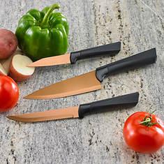 Copper Titanium Knife Set