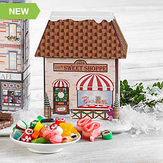 Hub City Collectible Christmas Village Tins & Treats - Candy Shoppe