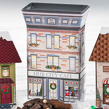 Hub City Collectible Christmas Village Tins & Treats - Hub City Cafe
