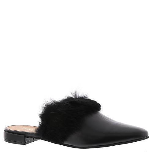 ALL BLACK Hi Fur Slide (Women's)