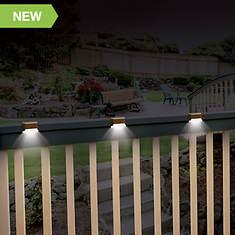 Solar Deck Lights- Set of 3