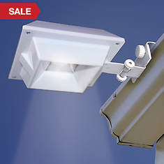 2-Pack Solar Gutter Lights