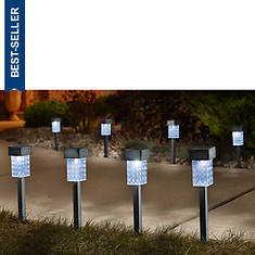 Set Of 8 Square Solar Lights