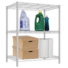 White Wire Shelf-3 Layer