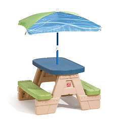 Step2 Sit and Play Jr. Picnic Table with Umbrella