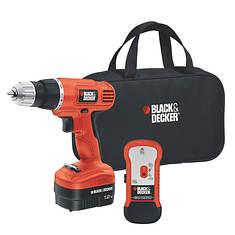 Black+Decker 12V Drill with Stud Sensor