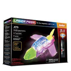 Laser Pegs Jets 3-in-1 Building Set