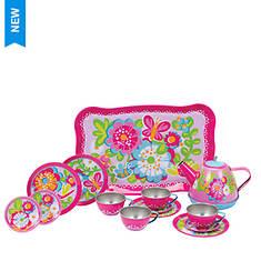 Schylling Garden Party Tin Tea Set