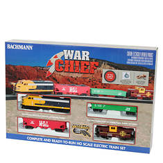 Bachmann Santa Fe War Chief Train Set