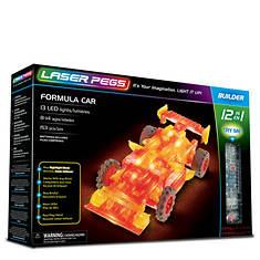 Laser Pegs Formula Car 12-1 Building Set