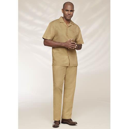 Stacy Adams Men's Linen Set