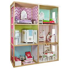 6' Dollhouse Modern Style