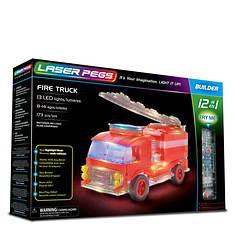 Laser Pegs Fire Truck 12-1 Building Set