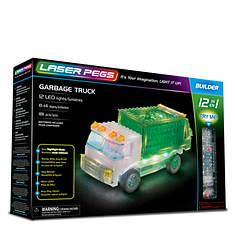 Laser Pegs Garbage Truck Building Set