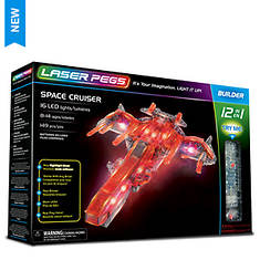 Laser Pegs Space Cruiser Building Set