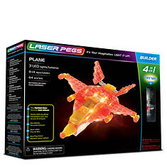 Laser Pegs Plane 4-in-1 Building Set