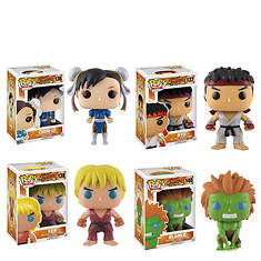 Funko Street Fighter Collectors Set