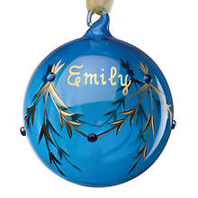 Personalized Birthstone Ornament