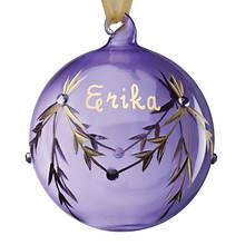 Personalized Birthstone Ornaments