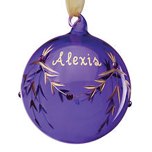 Personalized Birthstone Ornaments