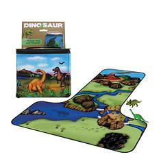 ZipBin Dinosaur Tote with 2 Dinosaurs