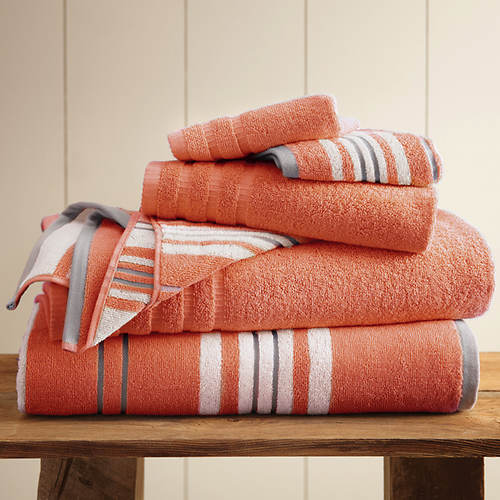 Racer Stripe 6-Pc. Towel Set