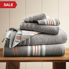 Racer Stripe 6-Pc. Towel Set