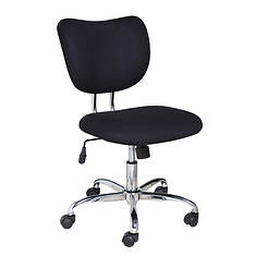 Mid-Back Task Chair With Chrome Base