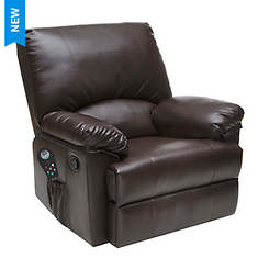 Rocker Recliner with Heat & Massage