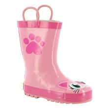 Western Chief Pink Kitty Rain Boot (Girls' Infant-Toddler-Youth)