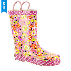 Western Chief Ladybug Garden Rain Boot (Girls' Toddler-Youth)