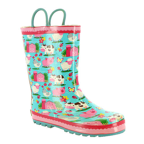 Western Chief Ee-I-Ee-I-Oh Rain Boot (Girls' Toddler-Youth)