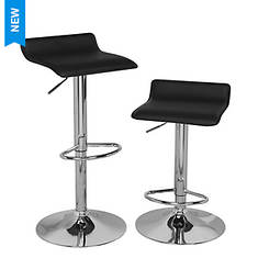 Adjustable Bar Stools, Set of 2