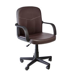 Bonded Leather Mid-Back Chair