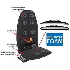 10-Motor Massage Seat Cushion with Heat