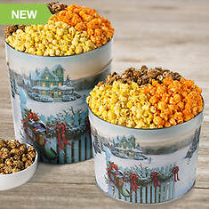 Gourmet Popcorn Trio-Wisconsin Christmas Popcorn Trio