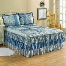 Heartland Triple Ruffle Bedspread