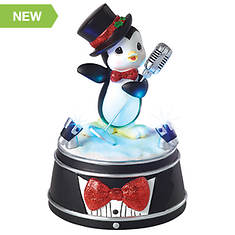Precious Moments LED Penguin Musical Figurine