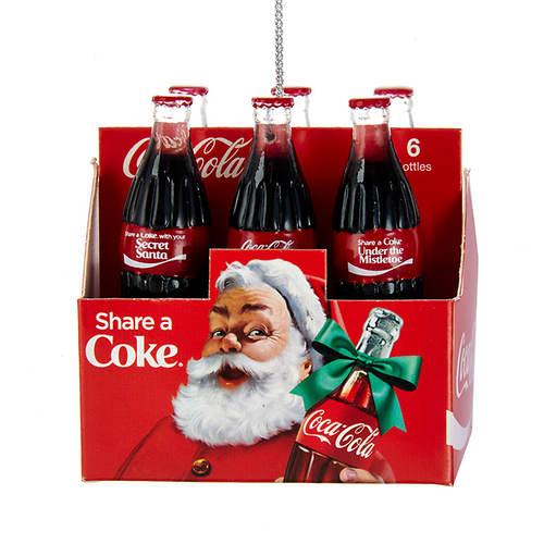 Coca-Cola® Santa Ornament