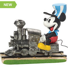 Mickey Mouse on Train