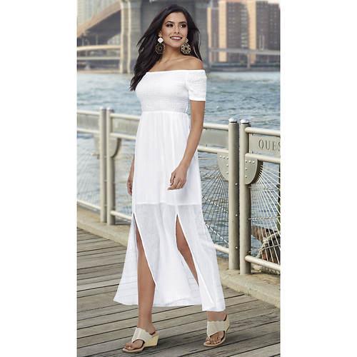 Gauze Smocked Maxi Dress