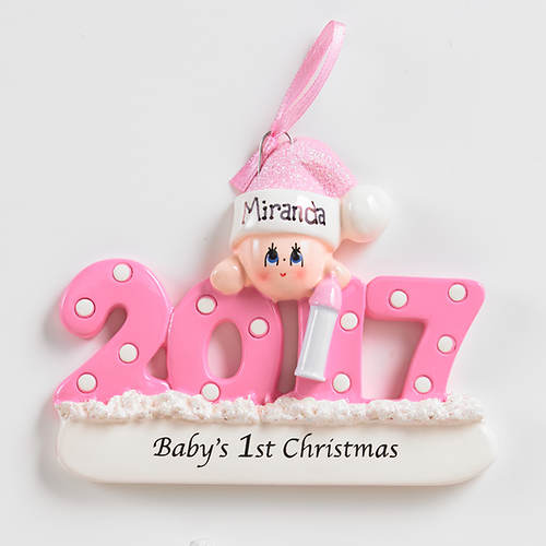 2017 Personalized First Christmas