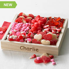 Personalized Valentine Candy Tray