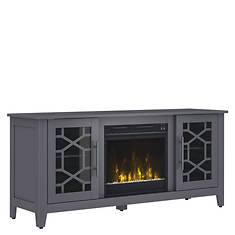 Classic Flame Clarion TV Stand with Fireplace