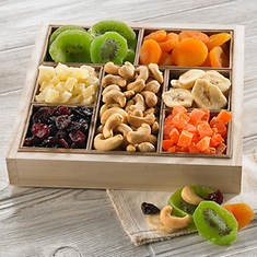 Deluxe Fruit and Nut Tray