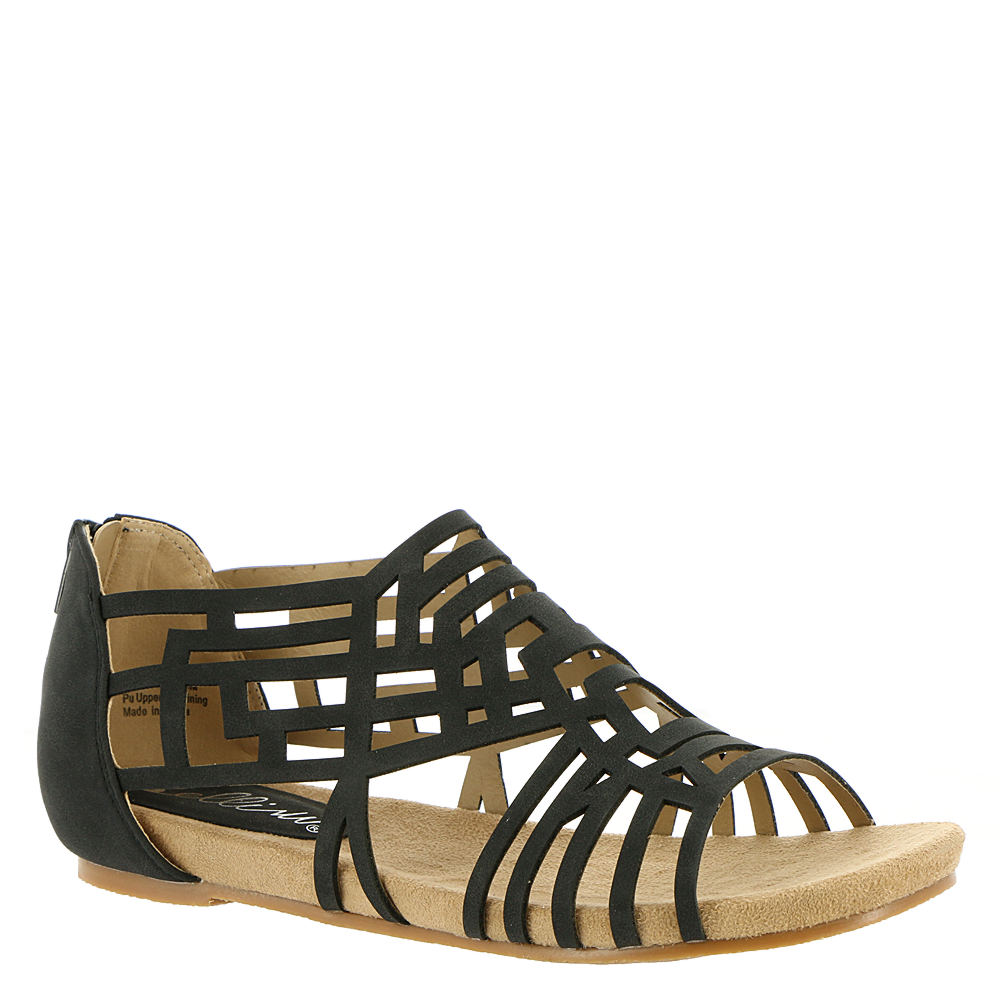 3b76b3ad07a32 Bellini Womens Nazareth Open Toe Casual Gladiator Sandals Black Size ...