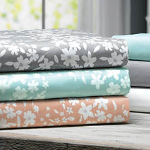 8-Pc. Floral/Solid Sheet Set